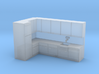 N Scale Kitchen 3d printed
