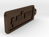 New York, New York Keychain 3d printed