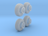 1-35 Pro-Comp Tire+Wheel Set1 3d printed