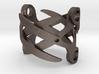 Sapphic: ScissorRing size 8 3d printed