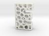 Voronoi Letter ( alphabet ) E 3d printed