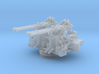 1/144 USN 40mm Quad Bofors Mount 3d printed