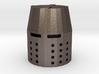 Fingertip Crusader Great Helm 3d printed