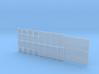 Lüftergitter TYP A, B, C, D in 1:40 (25 Stück) 3d printed