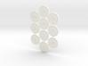 Descent Objective tokens - basegame (10 pcs) 3d printed