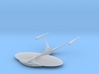 USS Enterprise J 3d printed