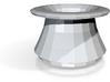 Mad hatter tophat vase 3d printed