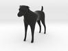 Dog figurine 3d printed