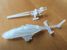 030B Modified Bell 222 1/144 With Weapons 3d printed