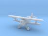 Curtiss F6C 'Hawk' (with wheels) 3d printed