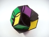 Poison Ivy Octahedron Puzzle 3d printed Alternate Turn Type