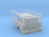 Dually Truck Bed With Enclosed Full Box 1-87 HO Sc 3d printed