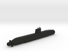 1/700 Barracuda Class Submarine 3d printed