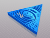 Pyramid | All-seeing eye 3d printed PyramidModeling