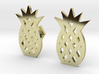 Pineapple Cufflinks 3d printed