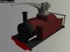 "O9 Heywood Styled Crane Tank ""Ulysses"" 3d printed Test Render"