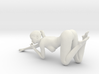 Long Ponytail Girl-069 3d printed
