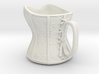 Victorian Damask Corset Cup, c. 1860-68 3d printed