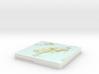 Big South Cape Island / Taukihepa - 15cm / 1:50k 3d printed