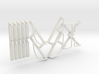DRGW Caboose Railings 3d printed