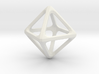 Octohedron 3d printed