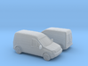 1/148 2X 2002-08 Ford Transit Connect 3d printed