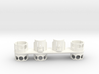 For Dyson V8, Right BIG Wall Adapter 3d printed White - slightly cheaper