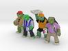 Middle Age Mutant DayJob Tortoises (4) 3d printed