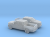 1/160 2X 2015 Ford F 150 Crew Cab 3d printed