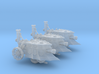 10mm Imperial Steam Tanks (3 Pcs) 3d printed