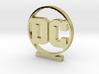 DC Logo 3d printed