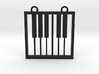 Music Pendant -  Piano Keys 3d printed
