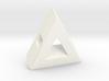 40 Degree ::: Triangle Pendant ::: v.01 3d printed