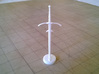 Role Playing Counter: Greatsword 3d printed Greatsword in Strong & Flexible Plastic (Polished White)