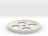 Spur Gear 65T (5mm wide) 3d printed