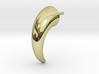Horn Earring 3d printed