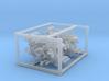 4 X 1/144 IJN Type 96 25mm Triple Mount 3d printed