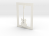 Gibson SG guitar for photo frame 3d printed