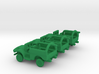 1/285 Scale Dodge WC Wrecker Set Of 3 3d printed