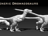 Dromaeosaurs or Raptors1/40 Krentz 3d printed The features are exaggerated ( thicker toes fingers) to ensure printing