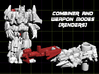Targetmaster Superion, 5mm  3d printed render of figure in both modes