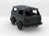 Draisina FIAT 500 3d printed