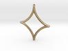 Astroid Pendant 3d printed