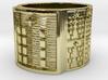 OGBEYEKUN Ring Size 14 3d printed
