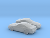 1/160 2X 2003 Ford Mustang 3d printed