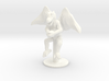 Flying Winged Kobold with Rock 3d printed