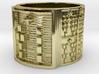 OGBETUA Ring Size 14 3d printed