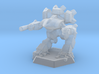 Mecha- Guardian II (1/937th) 3d printed