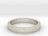 Alianza Tony - Tony's wedding ring 3d printed