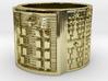OYEKUNBEDURA Ring Size 14 3d printed